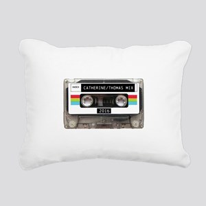 Mixtape CUSTOM label and year Rectangular Canvas P