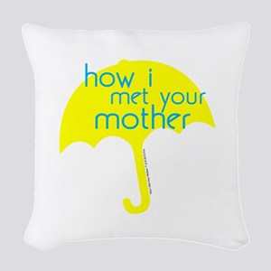 How I Met Your Mother Woven Throw Pillow