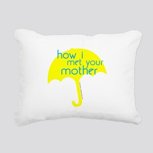 How I Met Your Mother Rectangular Canvas Pillow