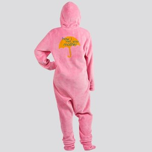How I Met Your Mother Footed Pajamas