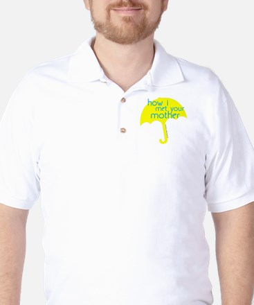 How I Met Your Mother Golf Shirt