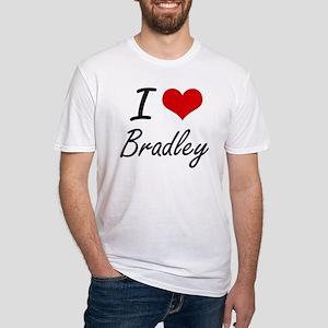 I Love Bradley artistic design T-Shirt