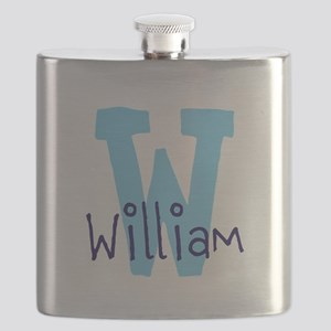Monogram and Initial Flask