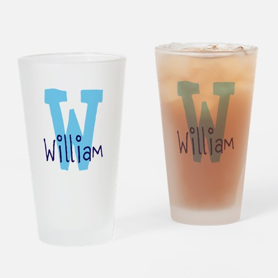 Monogram and Initial Drinking Glass