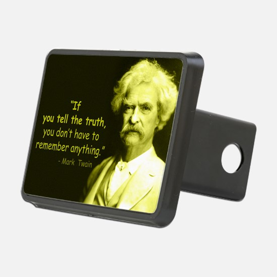Funny Vintage Rectangular Hitch Cover