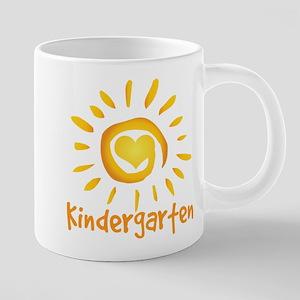 Kindergarten School Sun Mugs