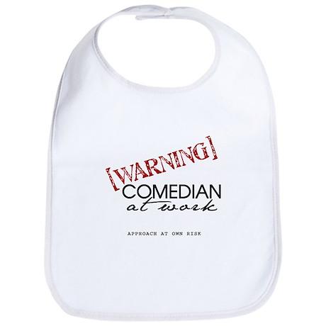 Warning: Comedian Bib