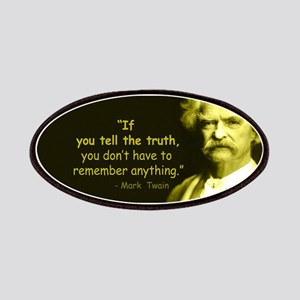 Mark Twain Tell the Truth Patch