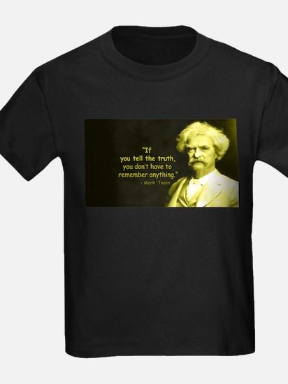 Mark Twain Tell the Truth T-Shirt