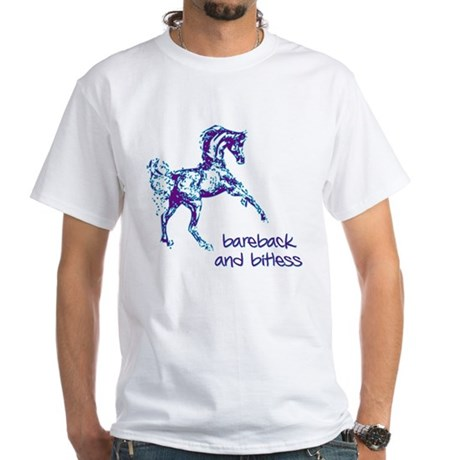 Bareback White T-Shirt