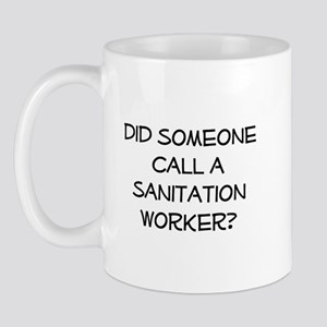 Sanitation Worker Mug