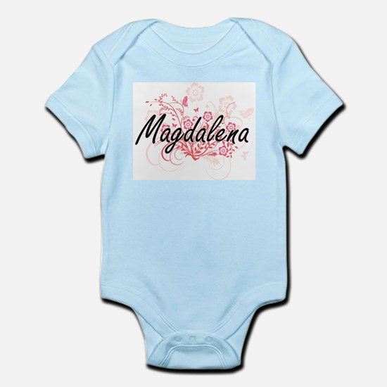 Magdalena Artistic Name Design with Flow Body Suit