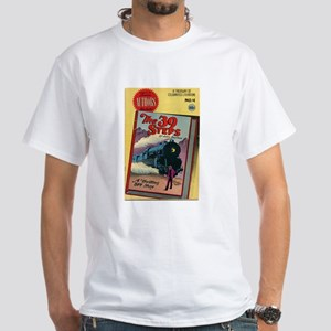 The 39 Steps Comic Book T-Shirt (light) T-Shirt