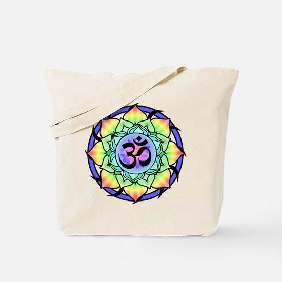aum-rainbow.png Tote Bag