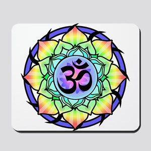 aum-rainbow Mousepad
