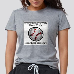Cooperstown NY Baseball shopp Ash Grey T-Shirt