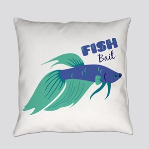 Fish Bait Everyday Pillow
