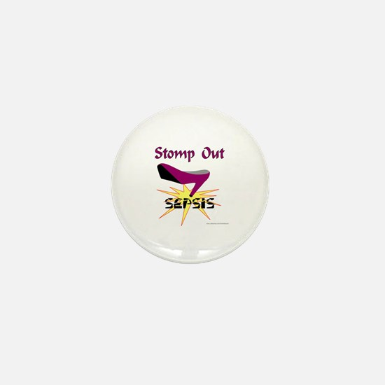 SEPSIS AWARENESS Mini Button