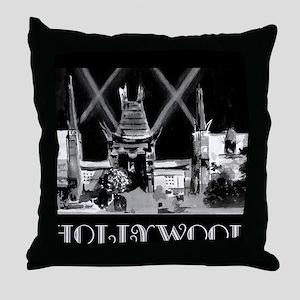 Hollywood! Throw Pillow