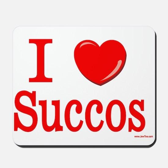 I Lover Succos Mousepad