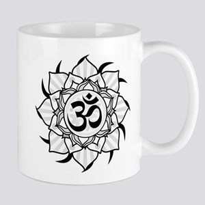 aum-grey Mugs