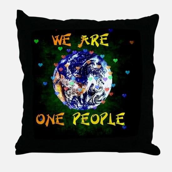 Unique Coexist Throw Pillow