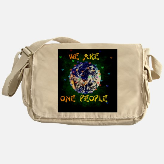 Unique Coexist Messenger Bag