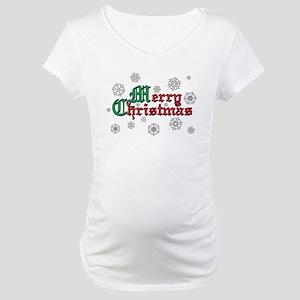 Merry Christmas Maternity T-Shirt
