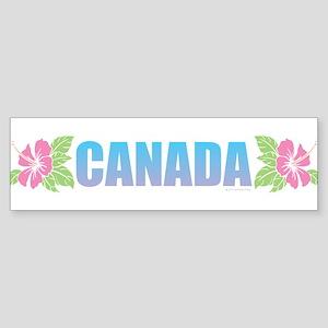 Canada Design Bumper Sticker