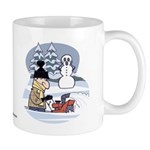 Winter Chores Mugs