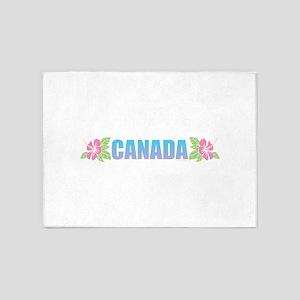 Canada Design 5'x7'Area Rug