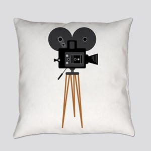 Film Reels Camera Movie Everyday Pillow