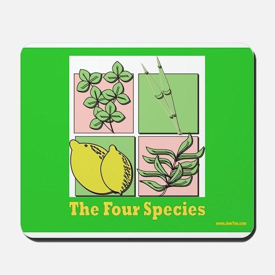 Succos The Four Species Mousepad