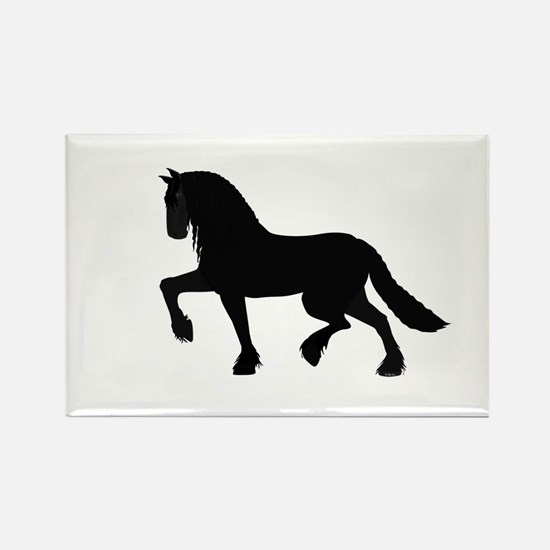 Friesian Rectangle Magnet