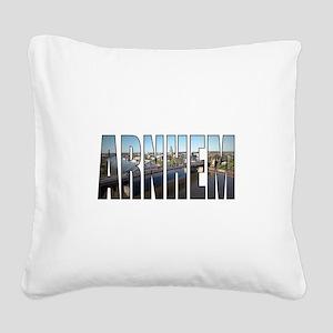 Arnhem Square Canvas Pillow