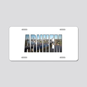 Arnhem Aluminum License Plate