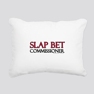 Slap Bet Rectangular Canvas Pillow
