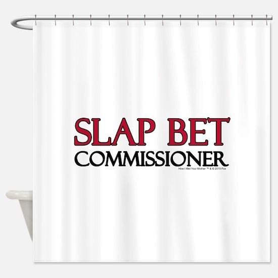 Slap Bet Shower Curtain