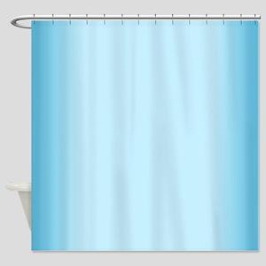Blue Gradient Shower Curtain