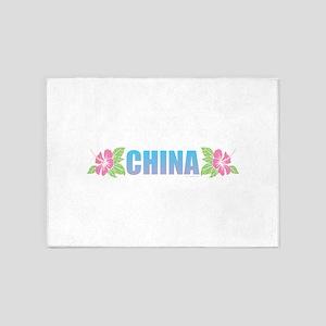 China Design 5'x7'Area Rug