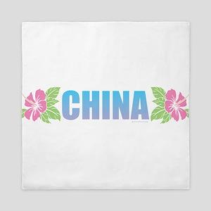 China Design Queen Duvet