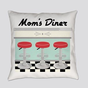Mom's Diner Everyday Pillow
