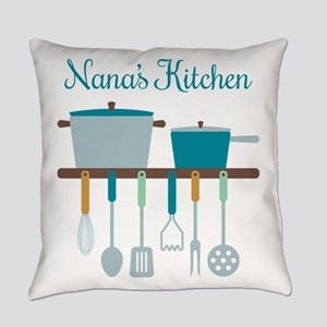 Nana Kitchen Cooking Utensils Pots Everyday Pillow