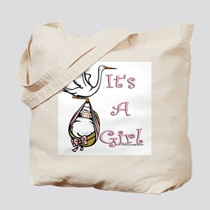 It's A Girl! Tote Bag