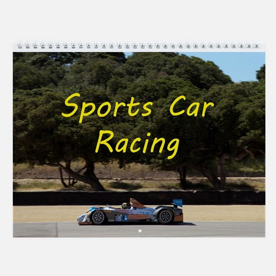 Sports Car Racing - Race Car Wall Calendar