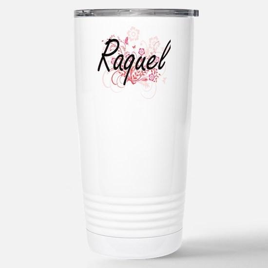 Raquel Artistic Name De Stainless Steel Travel Mug
