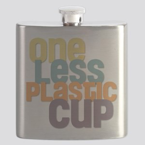 One Less Plastic Cup Flask