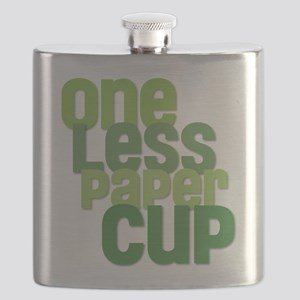 One Less Paper Cup Flask