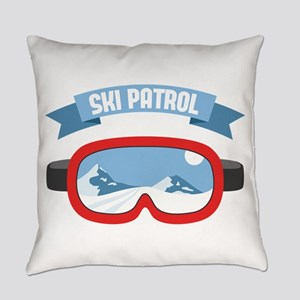 Ski Patrol Mask Everyday Pillow