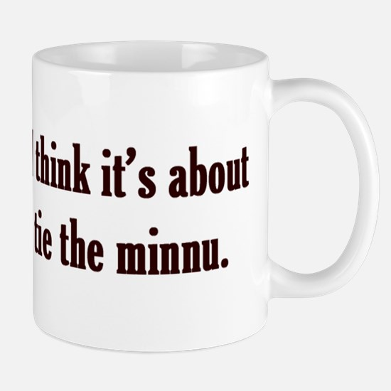 Tie the Minnu Mug
